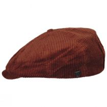 Brood Wide Wale Corduroy Newsboy Cap alternate view 9