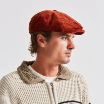 Brood Wide Wale Corduroy Newsboy Cap alternate view 11