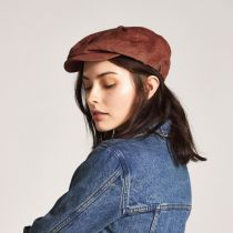 Brood Wide Wale Corduroy Newsboy Cap alternate view 12