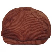 Brood Wide Wale Corduroy Newsboy Cap alternate view 14