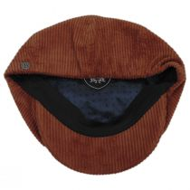Brood Wide Wale Corduroy Newsboy Cap alternate view 16