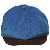 Brood Cotton and Suede Newsboy Cap alternate view 2