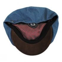 Brood Cotton and Suede Newsboy Cap alternate view 4
