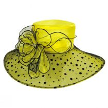 Peppered Boater Hat alternate view 6