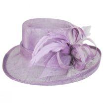 Demure Sinamay Boater Hat alternate view 3