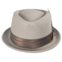 Stout D-Crown Wool Felt Fedora Hat in