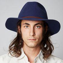 Wesley Wool Felt Fedora Hat alternate view 6