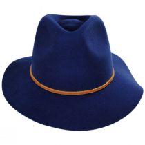 Wesley Wool Felt Fedora Hat alternate view 8