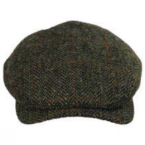 Herringbone Check Harris Tweed Wool Ivy Cap alternate view 2