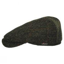 Herringbone Check Harris Tweed Wool Ivy Cap alternate view 3