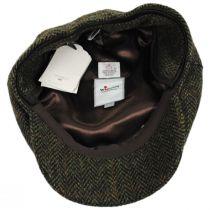 Herringbone Check Harris Tweed Wool Ivy Cap alternate view 5