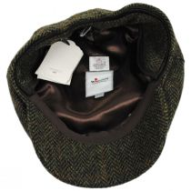 Herringbone Check Harris Tweed Wool Ivy Cap in