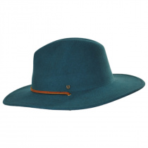 Field Wool Felt Wide Brim Fedora Hat alternate view 3