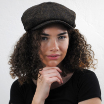 Harris Tweed Arnol Wool Newsboy Cap alternate view 5