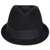 Dekker Crushable Wool Felt Trilby Fedora Hat alternate view 2