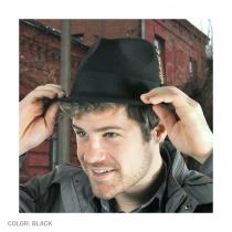 Dekker Crushable Wool Felt Trilby Fedora Hat alternate view 6