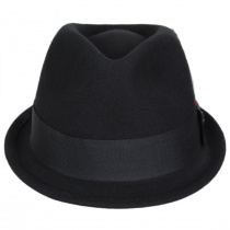 Dekker Crushable Wool Felt Trilby Fedora Hat alternate view 14