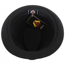 Dekker Crushable Wool Felt Trilby Fedora Hat alternate view 16