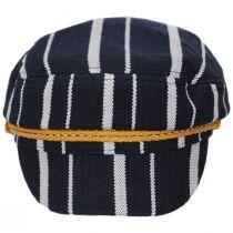 Ashland Stripe Cotton Blend Fiddler Cap alternate view 7