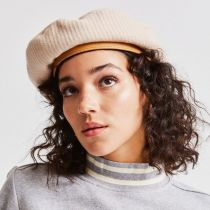 Audrey II Corduroy Wool Blend Beret alternate view 4