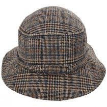 Mathews Plaid Wool Blend Bucket Hat alternate view 2