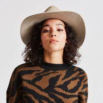 Ella Wool Felt Fedora Hat in
