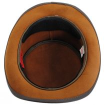 Bronze Oval Leather Top Hat alternate view 4