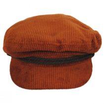 Corduroy Cotton Fiddler Cap in