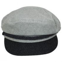 2-Tone Wool Blend Fiddler Cap alternate view 8