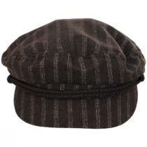 Striped Wool Blend Fiddler Cap alternate view 2