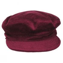 Unstructured Corduroy Cotton Fiddler Cap alternate view 3