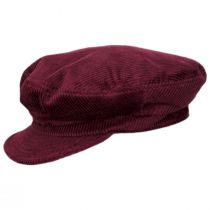 Unstructured Corduroy Cotton Fiddler Cap alternate view 6