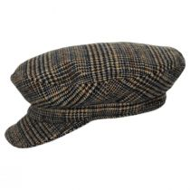 Unstructured Plaid Wool Blend Fiddler Cap alternate view 9