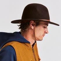 Tiller III Wool Felt Wide Brim Hat in