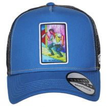 Loteria El Borracho Snapback Trucker Baseball Cap alternate view 2