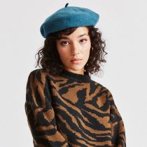 Audrey Satin Lined Wool Beret alternate view 2