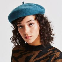 Audrey Satin Lined Wool Beret alternate view 3