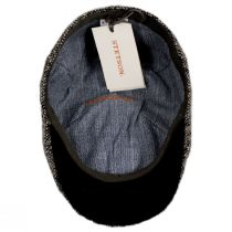 Donegal Marl Tweed Wool and Cotton Duckbill Cap in