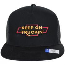Chevrolet Bow Tie MP Trucker Snapback Baseball Cap alternate view 2