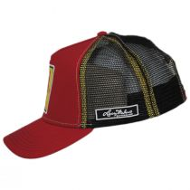 Loteria El Diablito Snapback Trucker Baseball Cap alternate view 3