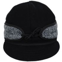 Harris Tweed Wool and Cotton Blend SK Cap alternate view 2