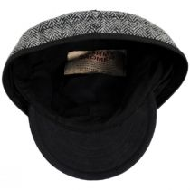 Harris Tweed Wool and Cotton Blend SK Cap alternate view 4