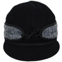 Harris Tweed Wool and Cotton Blend SK Cap alternate view 6