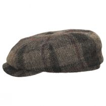 Harris Tweed Wool Newsboy Cap alternate view 3