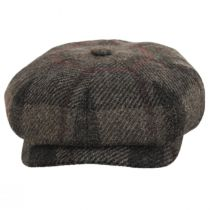 Harris Tweed Wool Newsboy Cap alternate view 6
