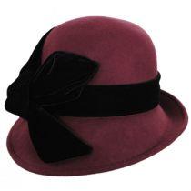 Velvet Wool Cloche Hat alternate view 2