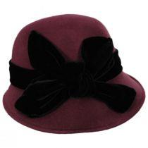 Velvet Wool Cloche Hat alternate view 3