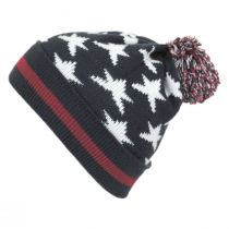 Stars and Stripes Beanie Hat alternate view 2