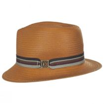 Kross Paper Straw Trilby Fedora Hat in
