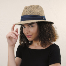 Seagrass Straw Safari Fedora Hat alternate view 14
